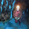 Caving in the Ore Mountains, Saxony, Germany
