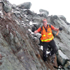Fieldwork on the Ryliejack claim east of Brucejack, British Columbia, Canada