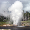 Riverside Geyser, Yellowstone National Park, USA
