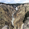 "The ""Grand Canyon"" of Yellowstone National Park, USA"