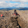 Trenching by Groundtruth Exploration in the Yukon, Canada