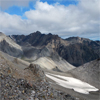 Mountains in the Kluane National Park and Reserve, Yukon, Canada